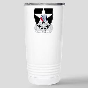 2nd Infantry CFMB Stainless Steel Travel Mug