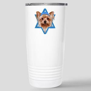 Hanukkah Star of David - Yorkie Stainless Steel Tr