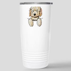 Pocket Doodle Pup Stainless Steel Travel Mug