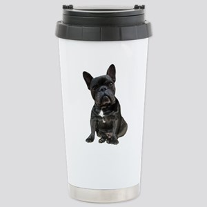 French Bulldog Puppy Po Stainless Steel Travel Mug