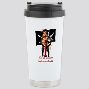 piratebabe Stainless Steel Travel Mug