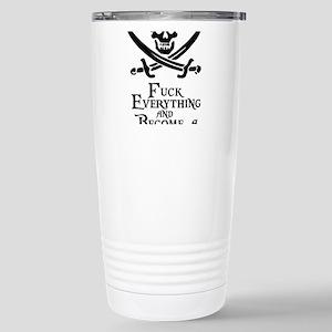 Become a pirate Travel Mug