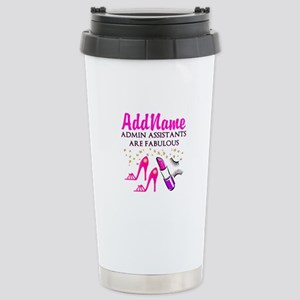 Best Admin Asst Stainless Steel Travel Mug