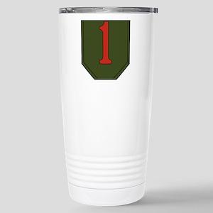 1st Infantry Division Stainless Steel Travel Mug