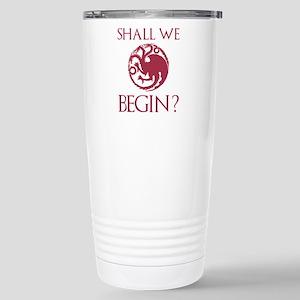 Shall We Begin? Ceramic Travel Mug