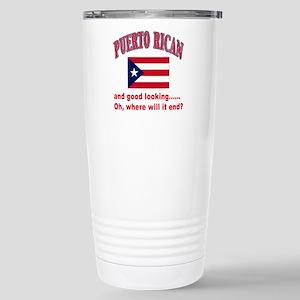 Puerto rican pride Stainless Steel Travel Mug