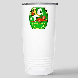Ethiopia Beer Label 1 Stainless Steel Travel Mug