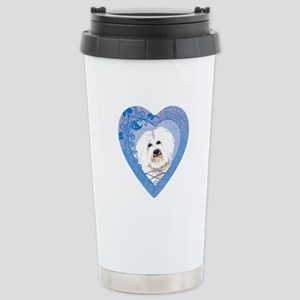 Coton de Tulear Stainless Steel Travel Mug