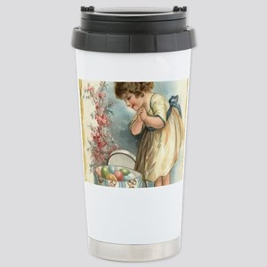victorian easter Stainless Steel Travel Mug