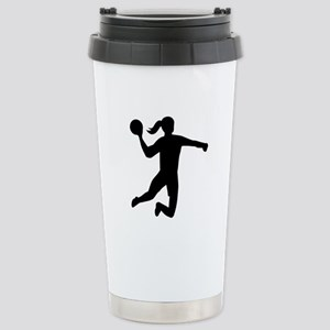 Womens handball Stainless Steel Travel Mug