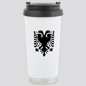 Albanian Eagle Stainless Steel Travel Mug