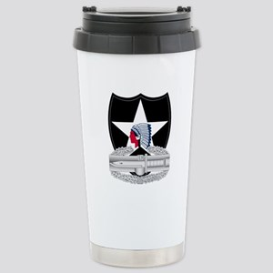 2nd Infantry CAB Stainless Steel Travel Mug