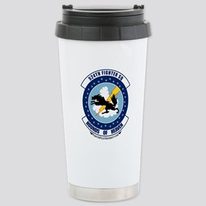 524th FS Stainless Steel Travel Mug