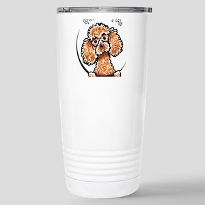 Apricot Poodle IAAM Stainless Steel Travel Mug