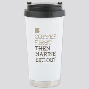 Marine Biology Stainless Steel Travel Mug