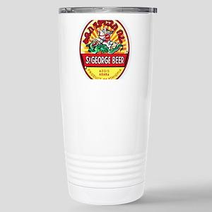 Ethiopia Beer Label 4 Stainless Steel Travel Mug