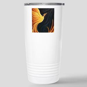 Phoenix Rising Stainless Steel Travel Mug