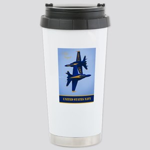 CP.Blues_380.16x20.bann Stainless Steel Travel Mug