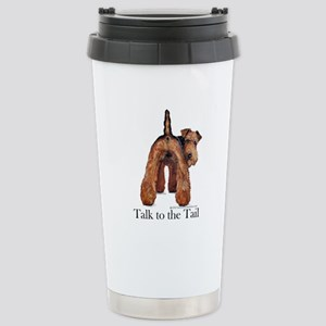 Airedale Terrier Talk Stainless Steel Travel Mug