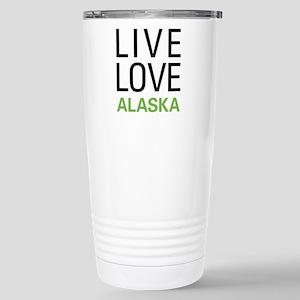 Live Love Alaska Stainless Steel Travel Mug