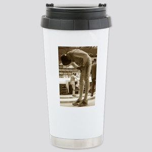 Sepia Fencing Stainless Steel Travel Mug
