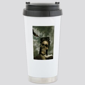 Death From the Skies Stainless Steel Travel Mug