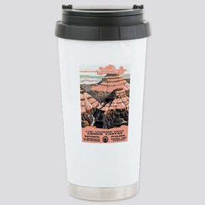 Vintage poster - Grand Stainless Steel Travel Mug