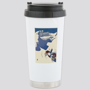 Vintage poster - Austri Stainless Steel Travel Mug