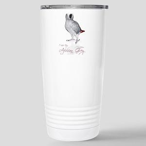 i love my african grey Stainless Steel Travel Mug