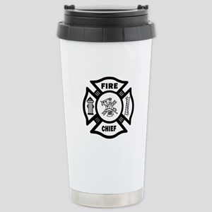 Fire Chief Stainless Steel Travel Mug