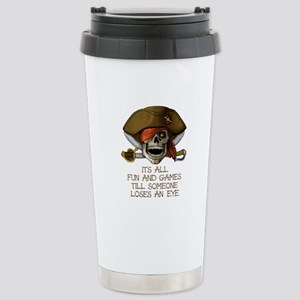 Its All Fun & Games Stainless Steel Travel Mug