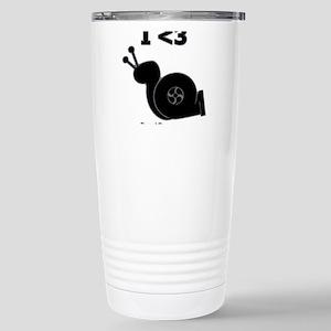 I <3 Turbo Snail - Stainless Steel Travel Mug