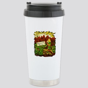 Government Cheese Stainless Steel Travel Mug