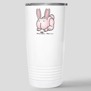 The Keister Bunny Stainless Steel Travel Mug