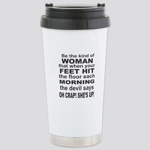 Oh Crap Devil Stainless Steel Travel Mug