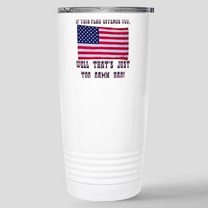 Flag3 Stainless Steel Travel Mug