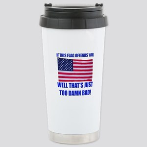 Flag3a Stainless Steel Travel Mug
