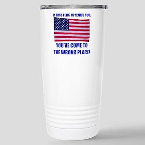 Flag1a Stainless Steel Travel Mug