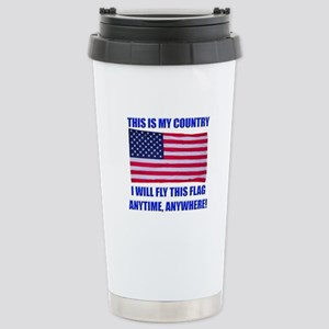 Flag2a Stainless Steel Travel Mug