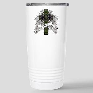 Gunn Tartan Cross Stainless Steel Travel Mug