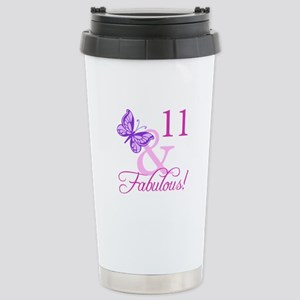 Fabulous 11th Birthday For Girls Stainless Steel T