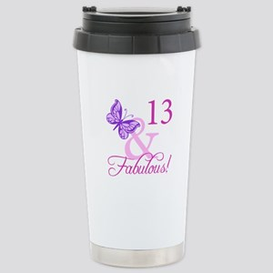 Fabulous 13th Birthday For Girls Stainless Steel T