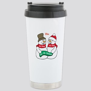 Our Nth Christmas Stainless Steel Travel Mug