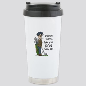 Golf Iron Every Day Stainless Steel Travel Mug