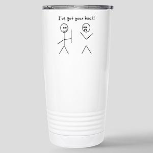 I've Got You Back Travel Mug