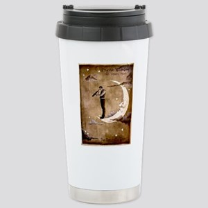 Psychic Wizardry, Man on the Moon Print Travel Mug