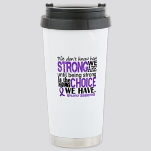 Epilepsy HowStrongWeAre Stainless Steel Travel Mug