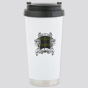 MacLaren Tartan Shield Stainless Steel Travel Mug