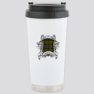 Campbell Tartan Shield Stainless Steel Travel Mug