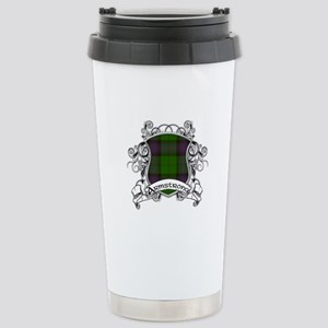 Armstrong Tartan Shield Stainless Steel Travel Mug